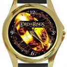 Lord of the Rings Gold Metal Watch