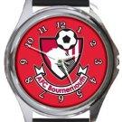 AFC Bournemouth Logo Round Metal Watch