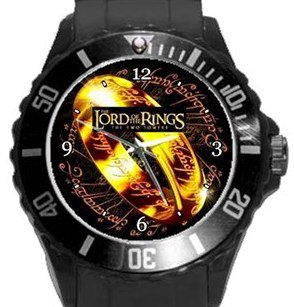 Lord of the Rings Plastic Sport Watch In Black