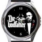 Marlon Brando as The Godfather Round Metal Watch
