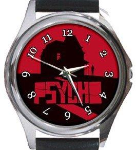 Psycho Round Metal Watch