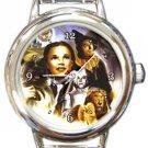 The Wizard of Oz Round Italian Charm Watch