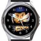 A Space Odyssey Round Metal Watch
