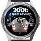 20101: A Space Odyssey Round Metal Watch