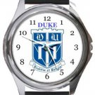 Duke University Round Metal Watch