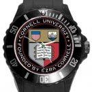 Cornell University Plastic Sport Watch In Black