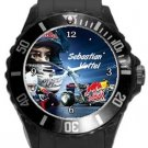 Sebastian Vettel Plastic Sport Watch In Black