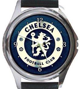 Chelsea Football Club Round Metal Watch
