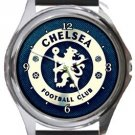 Chelsea Football Club Round Metal Watch