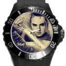 Star Wars The Last Jedi Plastic Sport Watch In Black