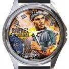 Rafael Nadal Round Metal Watch