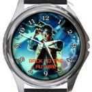 Back To The Future Round Metal Watch