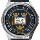 University of Oxford Round Metal Watch