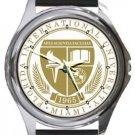 Florida International University Round Metal Watch