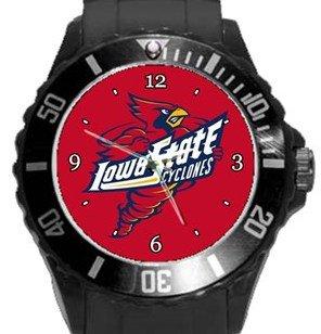 Iowa State Cyclones Plastic Sport Watch In Black