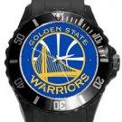 Golden State Warriors Plastic Sport Watch In Black