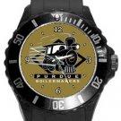 Purdue University Boilermakers Plastic Sport Watch In Black