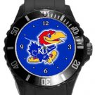 Kansas Jayhawks Plastic Sport Watch In Black