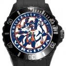 The University of Virginia Plastic Sport Watch In Black