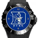 Duke Blue Devils Plastic Sport Watch In Black