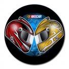 Nascar Racing Heat-Resistant Round Mousepad