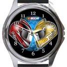 Nascar Racing Round Metal Watch
