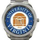 The University of Virginia Logo Sport Metal Watch