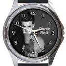 Charlie Puth Round Metal Watch