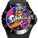 Splatoon Plastic Sport Watch In Black