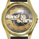 Dancing With The Stars Gold Metal Watch