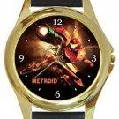 Metroid Gold Metal Watch
