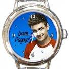 Liam Payne Round Italian Charm Watch