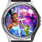 The Princess and The Frog Round Metal Watch