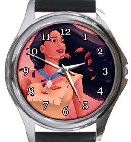 Pocahontas Round Metal Watch