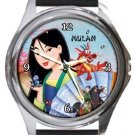 Mulan Round Metal Watch