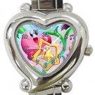 Kirby Heart Italian Charm Watch