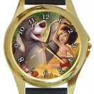 The Jungle Book Gold Metal Watch