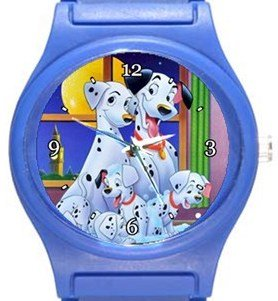 101 Dalmatians Blue Plastic Watch