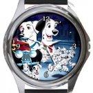 101 Dalmatians Round Metal Watch
