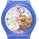 Aristocats Kittens Blue Plastic Watch