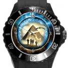 Stargate Plastic Sport Watch In Black