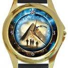 Stargate Gold Metal Watch