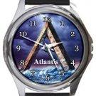 Atlantis Round Metal Watch