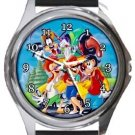 Goofy and Friends Round Metal Watch