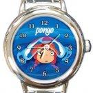 Ponyo Round Italian Charm Watch
