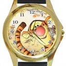 Tigger Gold Metal Watch