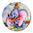Dumbo Heat-Resistant Round Mousepad