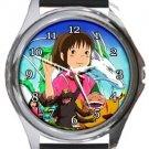 Chihiro Spirited Away Round Metal Watch