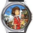 Spirited Away Round Metal Watch