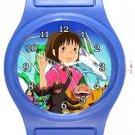 Chihiro Spirited Away Blue Plastic Watch